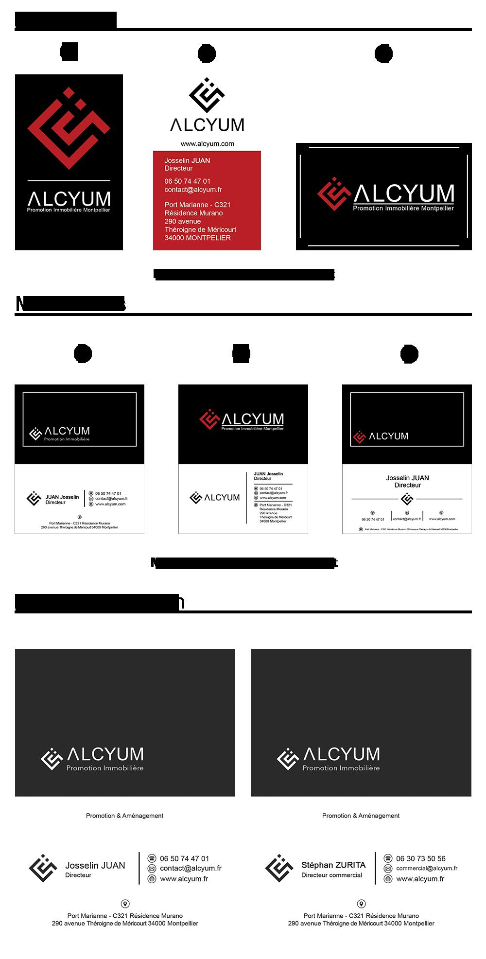 Propositions cartes de visite Alsyum Promotion immobilière