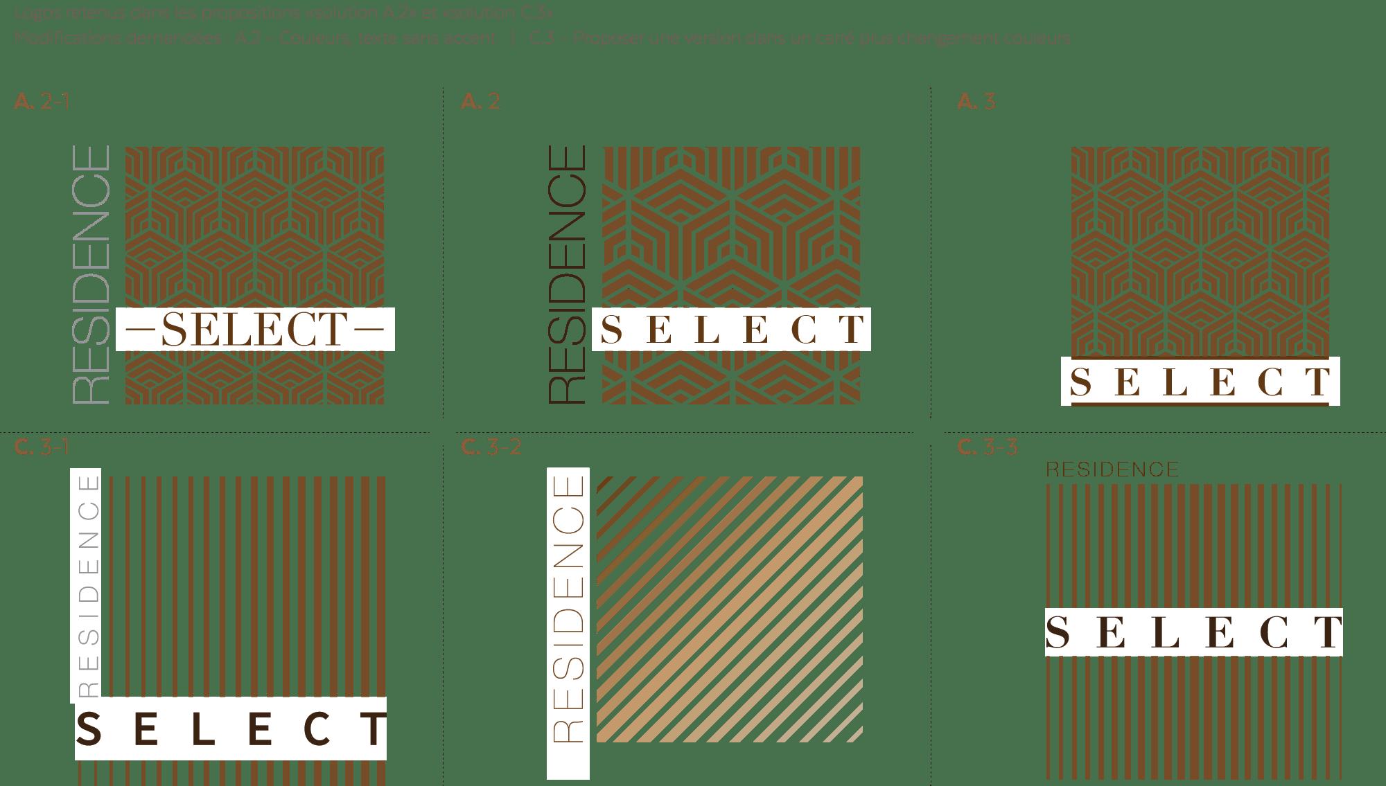 Corrections logo résidence SELECT