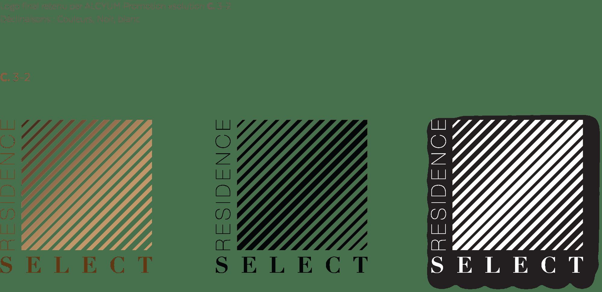 Validation final du logo résidence SELECT
